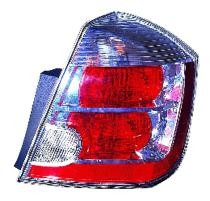 2007 - 2009 Nissan Sentra Rear Tail Light Assembly Replacement (with 2.0L Engine) - Right (Passenger)