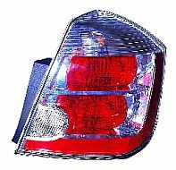2007-2009 Nissan Sentra Tail Light Rear Brake Lamp (with 2.0L Engine) - Right (Passenger)