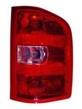 2007 - 2013 Chevrolet (Chevy) Silverado Tail Light Rear Lamp - Right (Passenger)