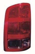 2007 - 2013 GMC Sierra Tail Light Rear Lamp - Right (Passenger)