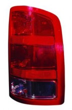 2007 - 2013 GMC Sierra Rear Tail Light Assembly Replacement / Lens / Cover - Left (Driver)