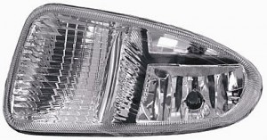 2001-2004 Chrysler Town & Country Fog Light Lamp - Right (Passenger)
