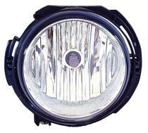 2006 - 2010 Chevrolet (Chevy) HHR Fog Light Assembly Replacement Housing / Lens / Cover - Right (Passenger)