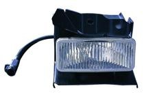 1995 - 1998 Ford Explorer Fog Light Assembly Replacement Housing / Lens / Cover - Right (Passenger)