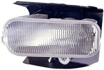 1999 - 2003 Ford F-Series Heritage Pickup Fog Light Assembly Replacement Housing / Lens / Cover - Left (Driver)