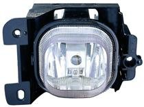 2004 - 2005 Ford Ranger Fog Light Assembly Replacement Housing / Lens / Cover - Left (Driver)