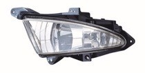 2007 - 2010 Hyundai Elantra Fog Light Assembly Replacement Housing / Lens / Cover - Left (Driver)
