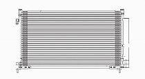 2006 - 2009 Honda Civic A/C (AC) Condenser (1.8L + 2.0L) [Coupe]