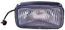 1993 - 1995 Jeep Grand Cherokee Fog Light Assembly Replacement Housing / Lens / Cover - Left or Right (Driver or Passenger)