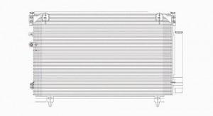 2005-2010 Scion tC A/C (AC) Condenser