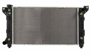 1996-2000 Chrysler Town & Country Radiator (3.3L / 3.8L / With Driver Side Outlet)