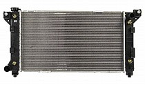 1996 - 2000 Chrysler Town & Country Radiator (3.3L + 3.8L + With Driver Side Outlet)
