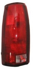 1992-1999 Chevrolet Chevy Suburban Tail Light Rear Lamp (without Connector Plate) - Left (Driver)