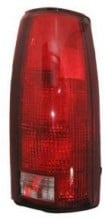 1992-1999 Chevrolet Chevy Tahoe Tail Light Rear Lamp (OEM# 16506356) - Right (Passenger)