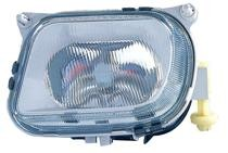 1998 - 1999 Mercedes Benz E430 Fog Light Assembly Replacement Housing / Lens / Cover - Left (Driver)