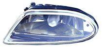 2002 - 2003 Mercedes Benz ML320 Fog Light Assembly Replacement Housing / Lens / Cover - Left (Driver)