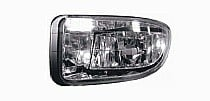2000 - 2002 Subaru Legacy Fog Light Assembly Replacement Housing / Lens / Cover - Left (Driver)