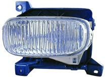 2000 - 2006 Toyota Tundra Pickup Fog Light Lamp (with Steel Bumper) - Right (Passenger)