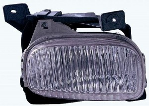 2000-2006 Toyota Tundra Pickup Fog Light Lamp (with Steel Bumper) - Left (Driver)