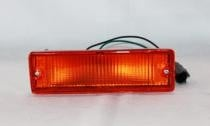 1989 - 1997 Nissan Pickup Bumper Parking + Signal Light Assembly Replacement / Lens Cover - Right (Passenger)