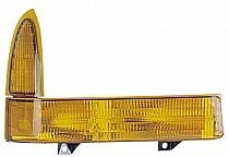 1999 - 2000 Ford F-Series Super Duty Pickup Corner Light Assembly Replacement / Lens Cover - Right (Passenger)