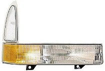 2002 - 2005 Ford F-Series Super Duty Pickup Parking + Signal Light - Right (Passenger)