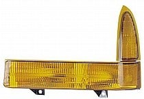 1999 - 2000 Ford F-Series Super Duty Pickup Corner Light Assembly Replacement / Lens Cover - Left (Driver)
