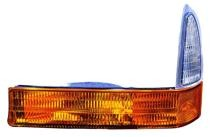 2001 Ford F-Series Super Duty Pickup Corner Light (with 1 Amber Colored & 1 Clear Lens) - Left (Driver)