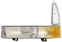 2002 - 2005 Ford F-Series Super Duty Pickup Corner Light Assembly Replacement / Lens Cover - Left (Driver)