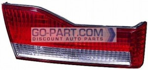 2001-2002 Honda Accord Deck Lid Tail Light - Left (Driver)