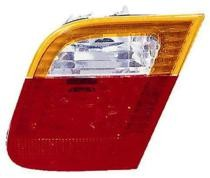 2002 - 2005 BMW 325i Backup Light Lamp (Sedan + E46 + Deck Lid Mounted + with Amber Lens) - Right (Passenger)