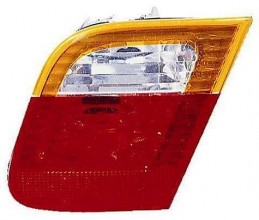 2002-2005 BMW 325i Backup Light Lamp (Sedan / E46 / Deck Lid Mounted / with Amber Lens) - Right (Passenger)
