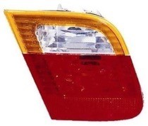 2002 - 2005 BMW 325i Backup Light Lamp (Sedan + E46 + Deck Lid Mounted + with Amber Lens) - Left (Driver)