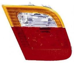 2002-2005 BMW 325i Backup Light Lamp (Sedan / E46 / Deck Lid Mounted / with Amber Lens) - Left (Driver)