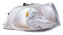 2001 - 2004 Volvo V40 Corner Light (Park/Signal Combination + with Bright Bezel + Early Design) - Right (Passenger)