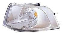2001 - 2004 Volvo V40 Corner Light (Park/Signal Combination + with Bright Bezel + Early Design) - Left (Driver)