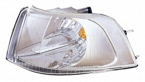 2001-2004 Volvo V40 Corner Light (Park/Signal Combination / with Bright Bezel / Early Design) - Left (Driver)