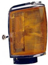 1987 - 1988 Toyota Pickup Corner Light (4WD / with Chrome) - Left (Driver)