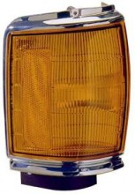 1987 - 1988 Toyota Pickup Corner Light (2WD + Deluxe/SR5/SRT + with Chrome Housing) - Left (Driver)