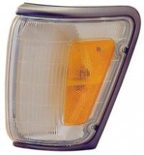 1990 - 1991 Toyota 4Runner Corner Light (Black Lens) - Right (Passenger)