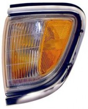 1995 - 1996 Toyota Tacoma Corner Light (2WD + Park/Marker Combo + with Chrome) - Left (Driver) Replacement