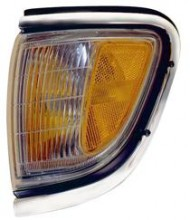 1995 - 1997 Toyota Tacoma Corner Light (4WD + Park/Marker Combo + with Chrome) - Left (Driver)