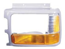 1991 - 1996 Dodge Dakota Headlight Bezel (with Composite lamp + with Lens + Prime) - Right (Passenger)