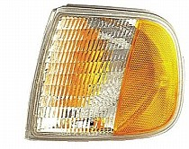 1997 Ford F-Series Heritage Pickup Corner Light Assembly Replacement / Lens Cover - Left (Driver)