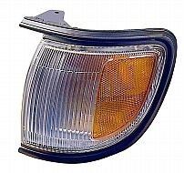 1996-1999 Nissan Pathfinder Corner Light (with Black Rim / to 12/98) - Left (Driver)