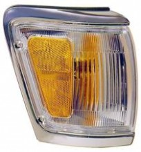 1992 - 1995 Toyota 4Runner Corner Light (Park/Marker Combination + with Bright Rim) - Right (Passenger)