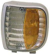 1994 - 1997 Mazda B3000 Corner Light Assembly Replacement / Lens Cover - Left (Driver)