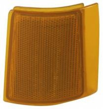 1994 - 1999 GMC Suburban Corner Light (with Composite lamps / 2-Piece Type / Upper Reflector) - Left (Driver)