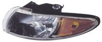 1997 - 2003 Pontiac Grand Prix Parking + Signal + Marker Light Assembly Replacement / Lens Cover - Left (Driver)