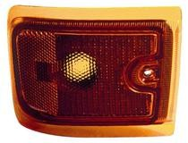 1996 - 2002 Chevrolet Chevy Express Corner Light (New Design / with Composite Lamps / Lower) - Right (Passenger)